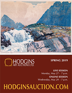 Hodgins Spring 2019 Art Auction Catalogue