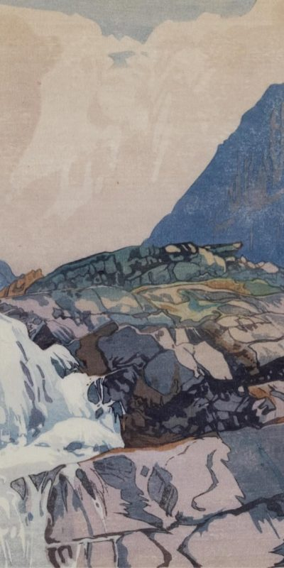 Walter Joseph Phillips  |  MOUNTAIN TORRENT; 1926  |  Hammer Price - $ 7,000
