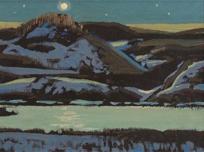 Illingworth Kerr | LITTLE LAKE, TURNER VALLEY ROAD; 1977 | Hammer Price - $ 6,000