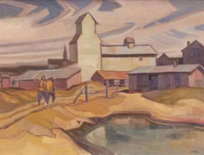 Henry George Glyde | SOUTHERN ALBERTA TOWN | Hammer Price - $ 8,500