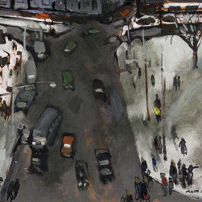 Molly Lamb Bobak | INTERSECTION (OTTAWA); ca 1973 | Hammer Price - $ 13,000