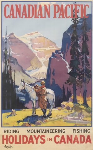 Canadian Pacific Vintage Poster