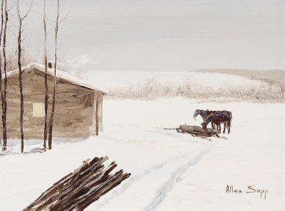Allen Sapp  -  12 x 16 in.