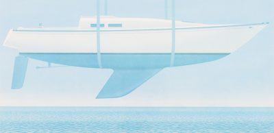 Christopher Pratt - 7.75 x 16 in.