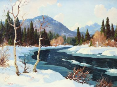 Roland Gissing  -  18 x 24 in.